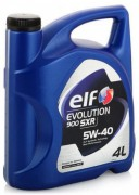 Моторное масло ELF Evolution 900 SXR SAE 5W-40, 4л